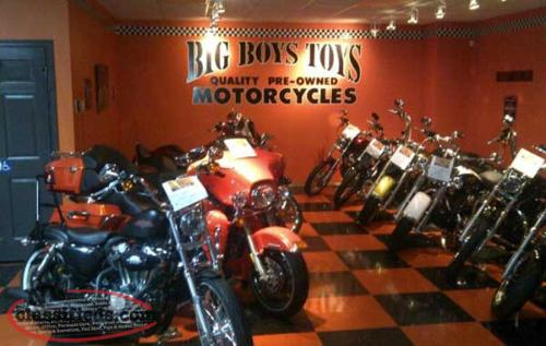 Big Boy Toys Motorcycles : Big boys toys specializing in harley davidson mount