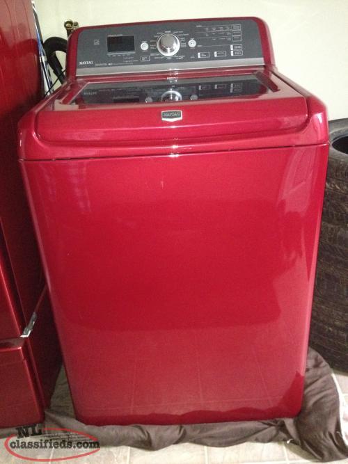 red washerdryer 1