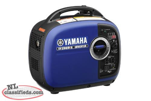 Save over on a new ef2000isx yamaha inverter for Yamaha generator for sale