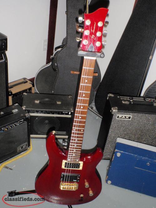 vintage jay turser electric guitar grand falls windsor newfoundland. Black Bedroom Furniture Sets. Home Design Ideas