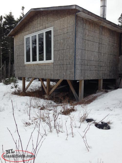 Cabin West Of Badger On Rail Bed Badger Newfoundland