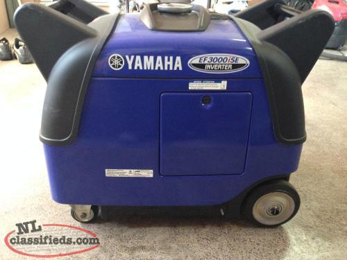 Yamaha ef3000ise inverter burin newfoundland for Yamaha ef 3000 ise inverter