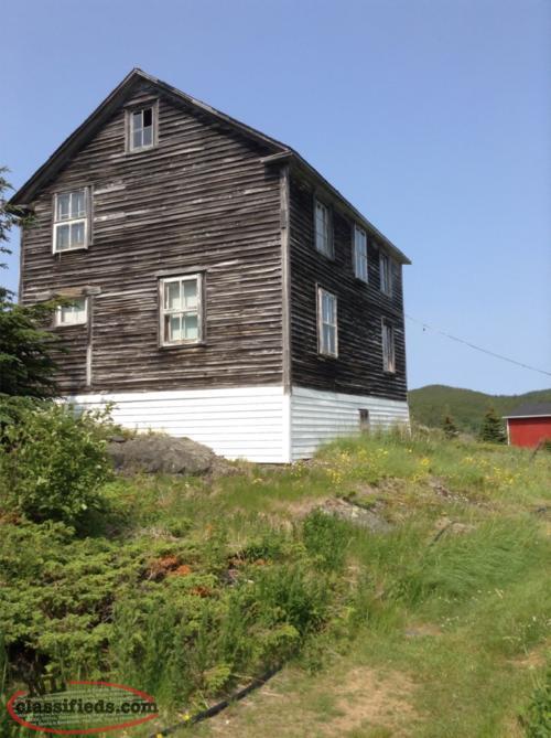 Cabin on exploits island exploits newfoundland for Cabins in newfoundland