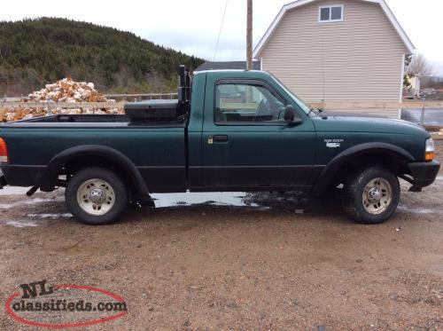 1998 ford ranger harebay newfoundland. Black Bedroom Furniture Sets. Home Design Ideas