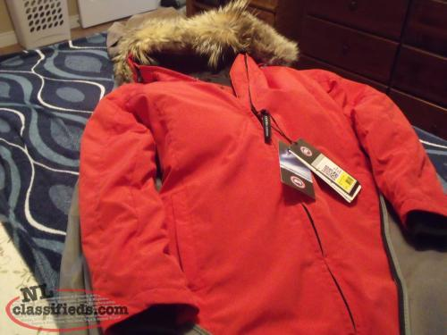 Canada Goose expedition parka replica fake - Women's authentic Red Whistler Canada Goose Jacket for sale. - St ...