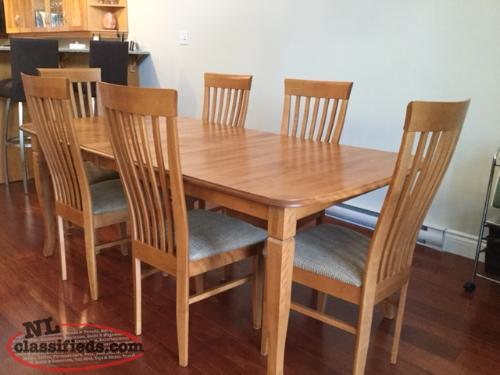 shermag dining room table amp chairs st john s newfoundland