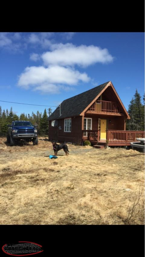 Beautiful cabin in hodgewater line makinsons newfoundland for Cabins in newfoundland
