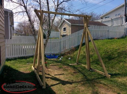 Just In Time For Summer   Backyard Monkey Bars, Swings, Or Ninja Warrior  Trainer