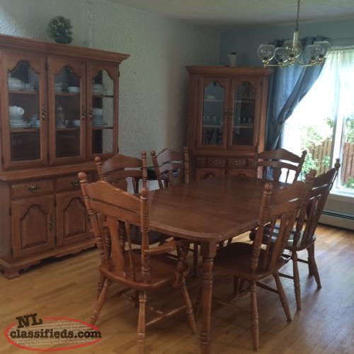 solid maple formal dining room set st john s newfoundland