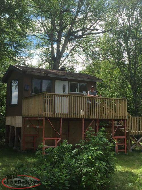 Cabin Leased Land For Sale North West Gander River