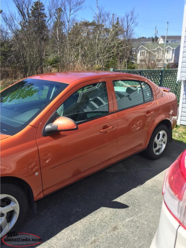 2007 Orange Pontiac G5 St Johns Newfoundland