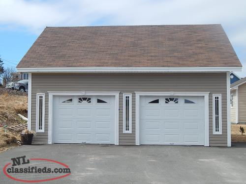 2 storey home with a large detached 2 car garage and paved for 2 car detached garage for sale