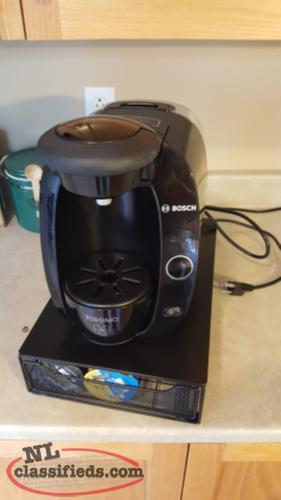 Tassimo Coffee Maker For Office : Tassimo Single cup brewer with T-disk holder - CBS, Newfoundland