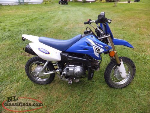 Ttr 50e kids dirt bike pasadena newfoundland for Yamaha of pasadena