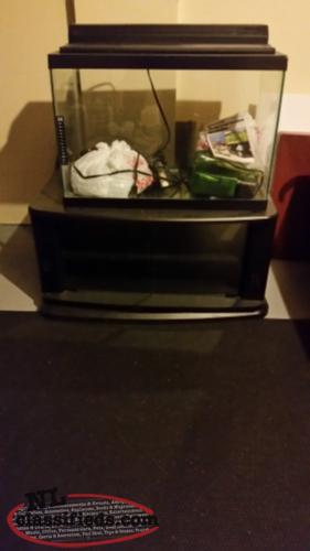 Fish tank stand filter heater etc mount pearl for Fish tank with filter and heater