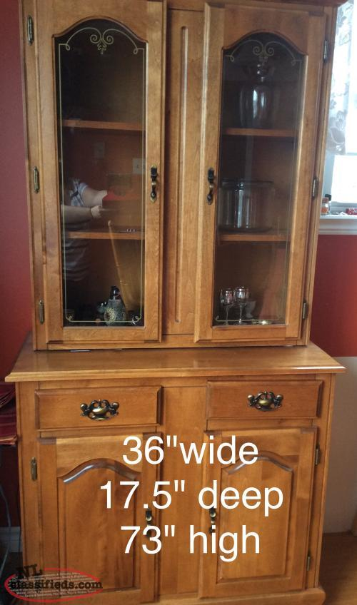 Buffet Hutch For Sale ST LAWRENCE Newfoundland