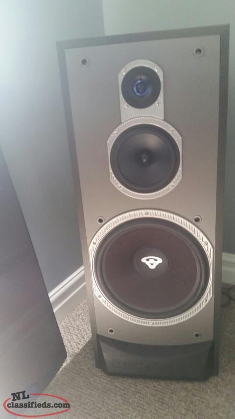 Mint cerwin vega vf 12 floor speakers mount pearl for 12 floor speaker