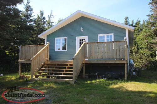 3 Year Old Cabin In Sought After Area Bay Roberts