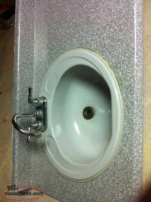 Bathroom Countertop with double sinks - For Sale - CBS, Newfoundland