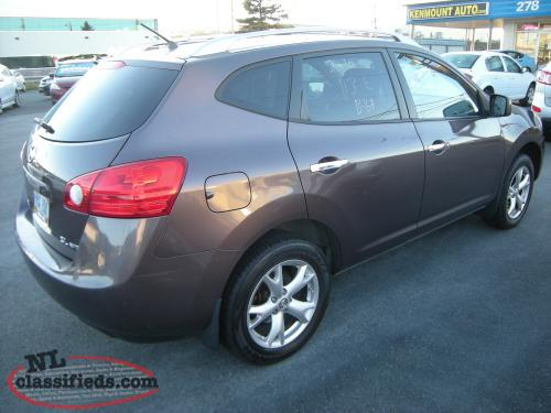 2010 nissan rogue sl awd suv auto full power w up to 36 mo warranty available st john 39 s. Black Bedroom Furniture Sets. Home Design Ideas
