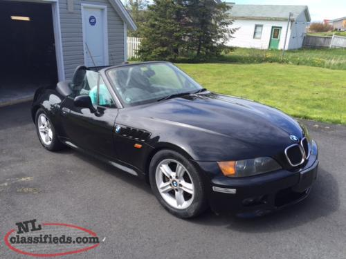 2001 bmw z3 roaster right hand drive mint condition st. Black Bedroom Furniture Sets. Home Design Ideas