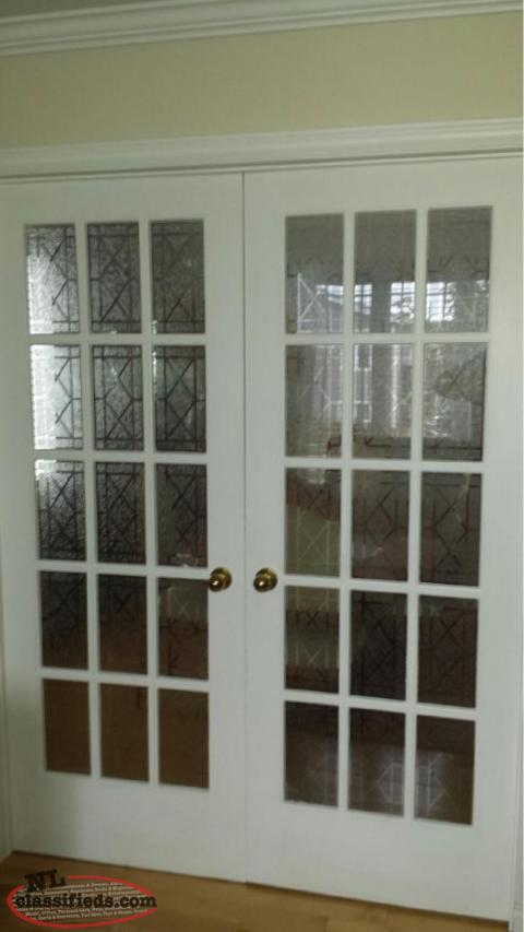 Solid Wood French Doors Mount Pearl Newfoundland