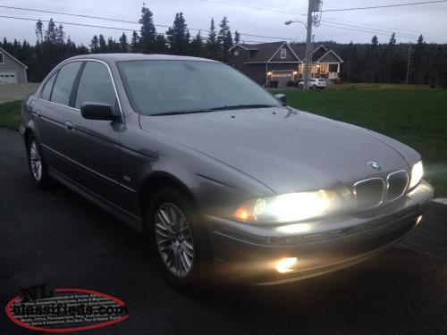 2002 bmw 530i for sale torbay newfoundland. Black Bedroom Furniture Sets. Home Design Ideas