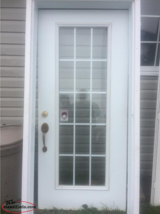 36 exterior door and storm door st johns newfoundland for Storm door on front door