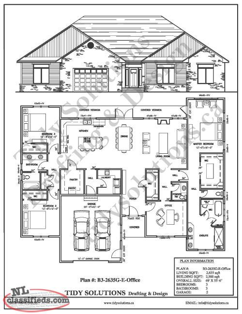House plans interior design more port de grave for Home plans newfoundland