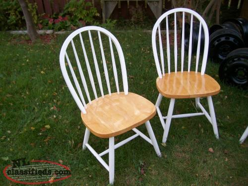 country style table and 4 chairs goulds newfoundland