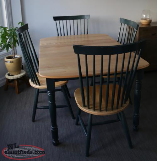 Kitchen Dining Table Set With 2 Tiered Sideboard China Cabinet Conception B