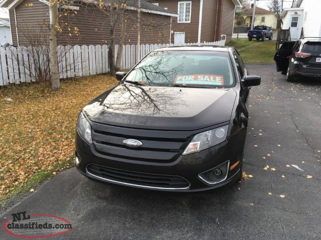 2010 ford fusion sle sport model for sale grand falls. Black Bedroom Furniture Sets. Home Design Ideas