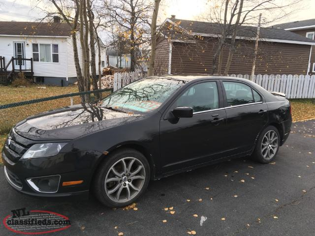 2010 ford fusion sle sport model for sale grand falls windsor newfoundland. Black Bedroom Furniture Sets. Home Design Ideas