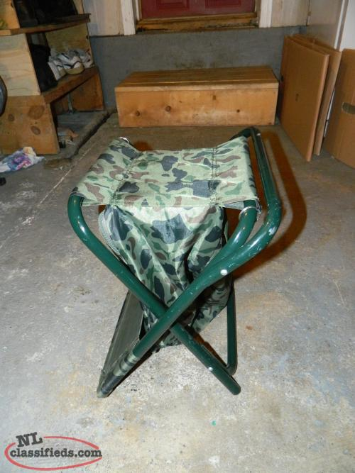 Camping ice fishing chair lewisporte newfoundland for Ice fishing chairs
