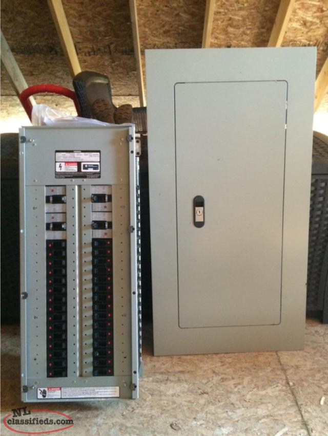 Building Electrical Panel : Brand new siemens panels with disconnect