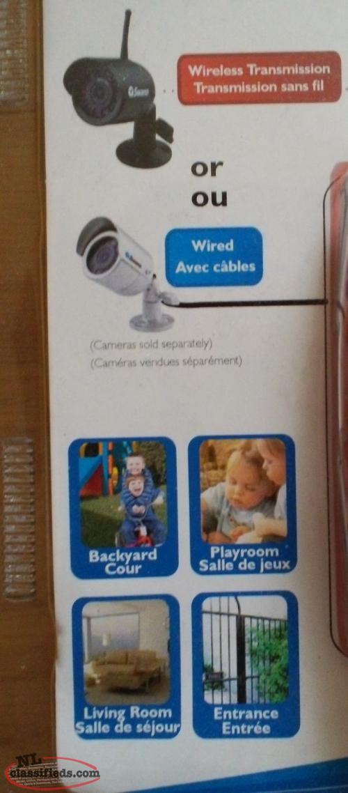 Swann Security Camera Digital Recording System For Home