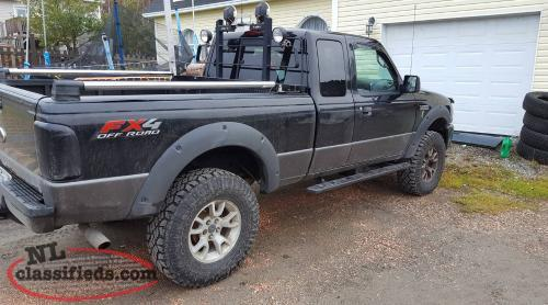 2007 Ford Ranger Fx4  4x4  4 Inch Suspension Lift