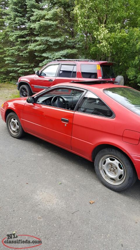 1996 Toyota Paseo Corner Brook Newfoundland