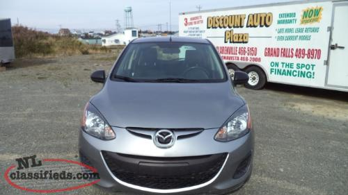 2014 mazda 2 clarenville newfoundland for Plaza motors infiniti service department