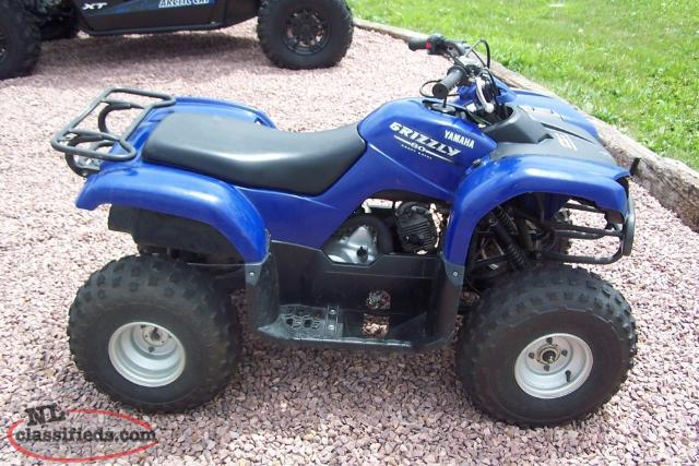 2005 grizzly 80 gander newfoundland for Yamaha grizzly 80