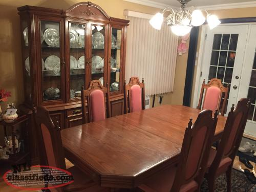 dining room table china cabinet bay robert 39 s newfoundland