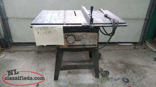 Table saw for sale lewisporte newfoundland for 12 inch table saws for sale