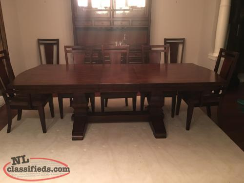 dining room table and hutch st john 39 s newfoundland
