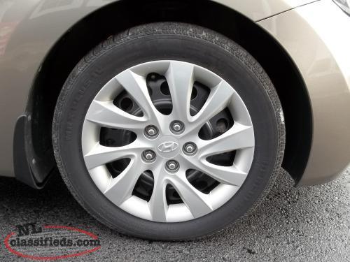 2013 Hyundai Elantra FREE Winter Tires GrandFalls