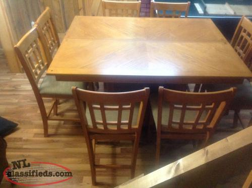Pub style dining room set north river newfoundland for Pub style dining sets