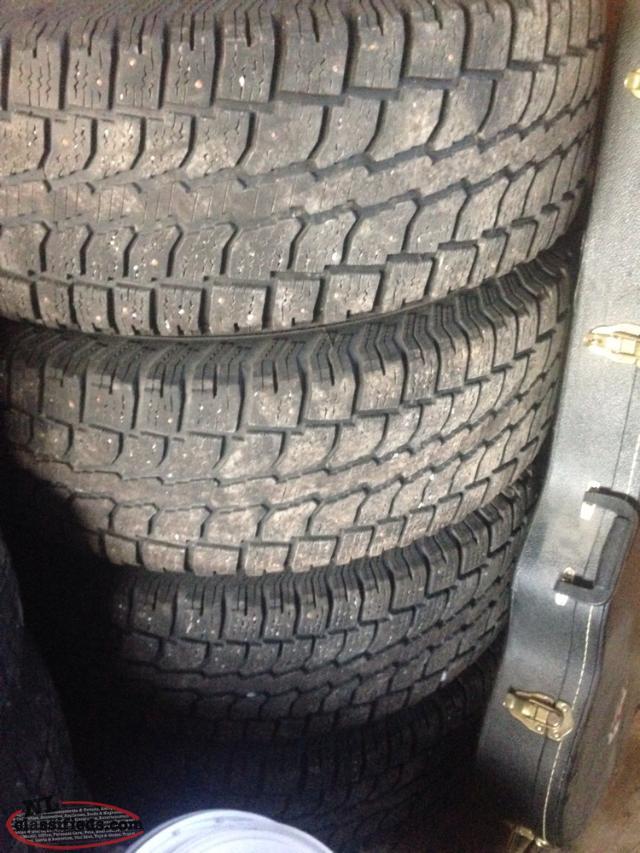 265 70 17 studded snow tires rims salmonier line newfoundland. Black Bedroom Furniture Sets. Home Design Ideas