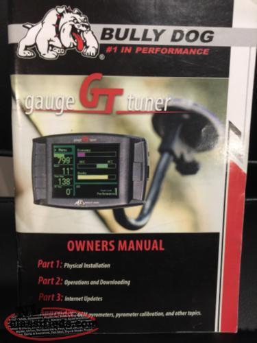 for sale bully dog gt platinum diesel  250 00 grand falls windsor  newfoundland bully dog gauge gt tuner manual bully dog gt tuner guide