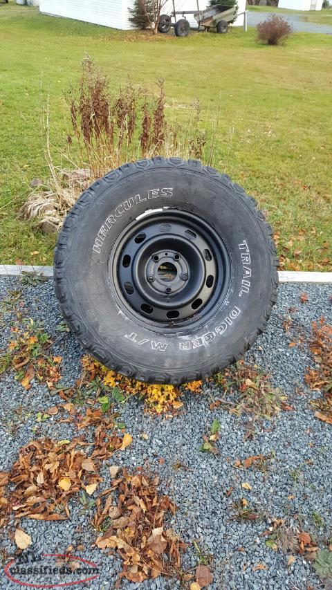 35 inch tire on 17 inch dodge rim milton newfoundland labrador nl classifieds. Black Bedroom Furniture Sets. Home Design Ideas