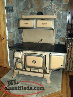 Old Fashion Wood Cook Stove - St Johns, Newfoundland