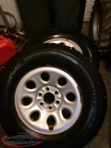 17 inch winter tires and rims for a chev truck st johns newfoundland. Black Bedroom Furniture Sets. Home Design Ideas